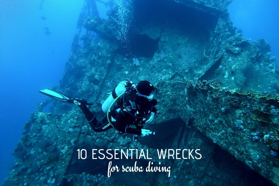 10 essential wrecks for scuba diving