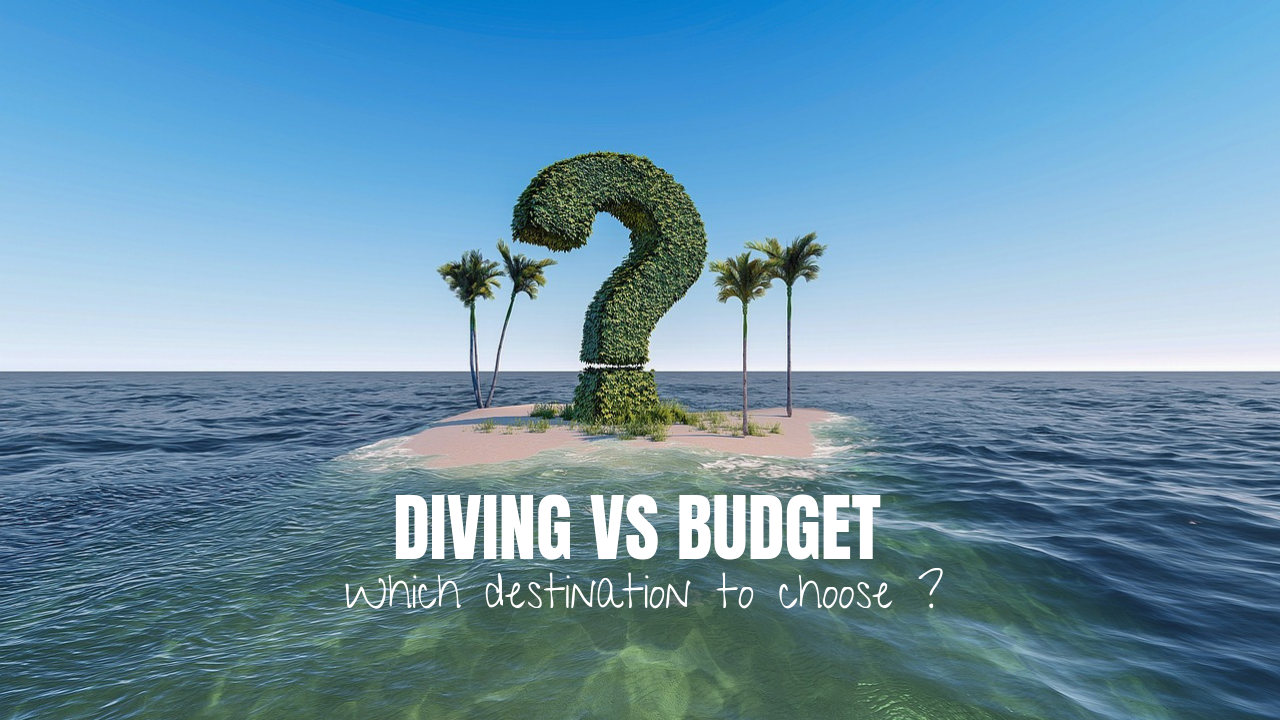 Scuba diving VS Budget, which destination to choose ?