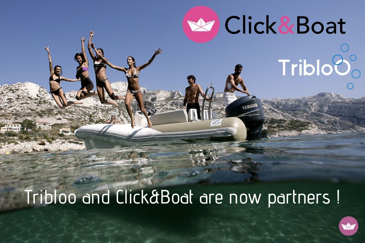 Tribloo and Click&Boat are now partners !